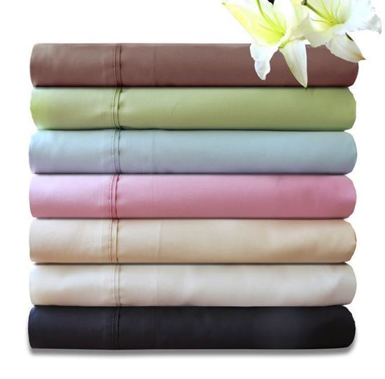 """Picture of """"MILDTOUCH"""" Bamboo Cotton Sheet Set 400T/C"""