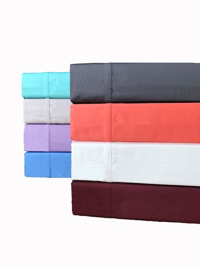 """Picture of """"MILDTOUCH"""" Cotton Sateen Sheet Set 300 T/C"""