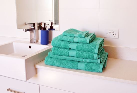 "Picture of ""MILDTOUCH"" Six-Piece Combed Cotton Towel Pack"