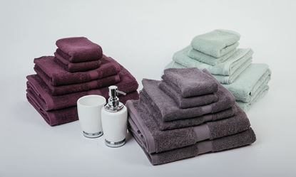 """Picture of """"MILDTOUCH"""" 100% Combed Cotton 7PC Bath Towel Set"""